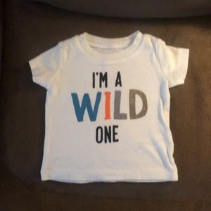"Carters 3 month ""I'm a wild one"" T-shirt"